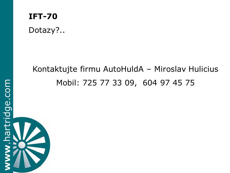 Kontaktujte firmu AutoHuldA – Miroslav Hulicius