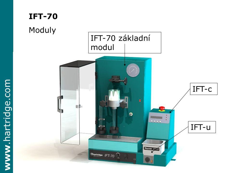 IFT-70 Moduly IFT-70 základní modul IFT-c IFT-u