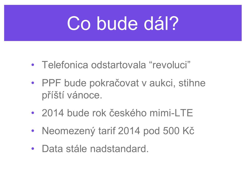 Co bude dál Telefonica odstartovala revoluci