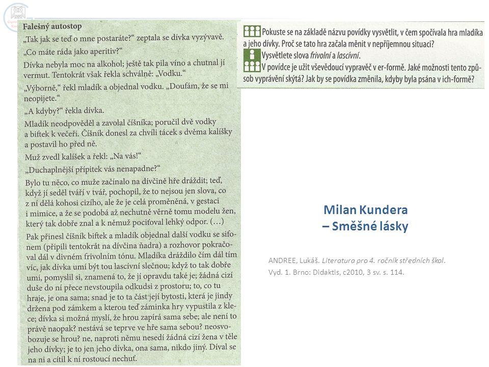 Milan Kundera – Směšné lásky