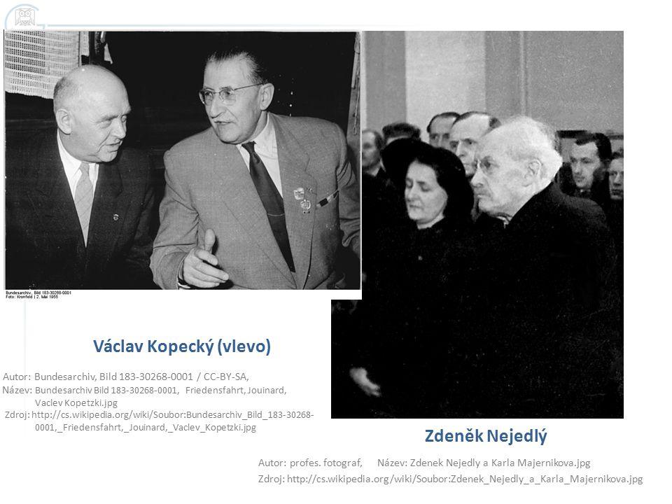 Václav Kopecký (vlevo)