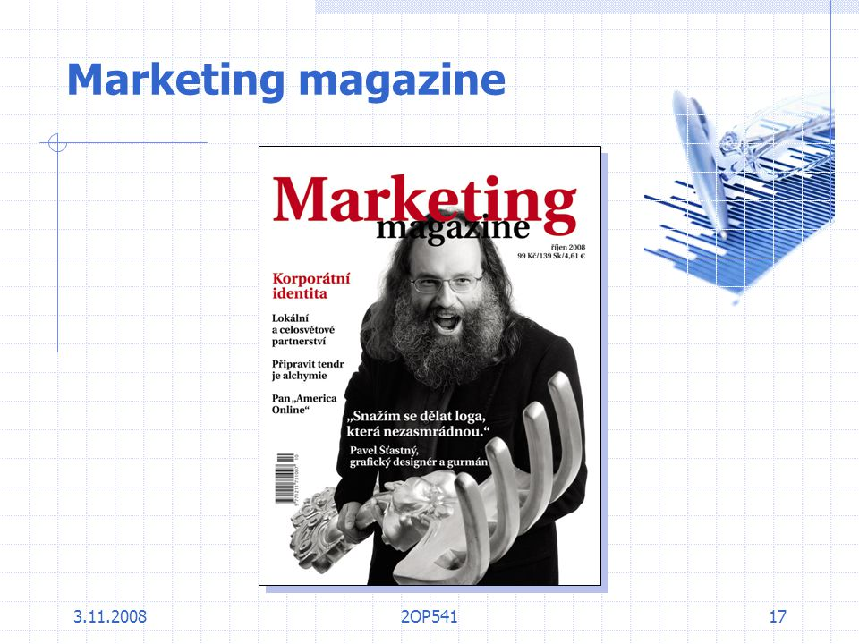 Marketing magazine 3.11.2008 2OP541