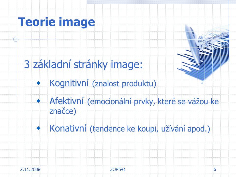 Teorie image 3 základní stránky image: Kognitivní (znalost produktu)