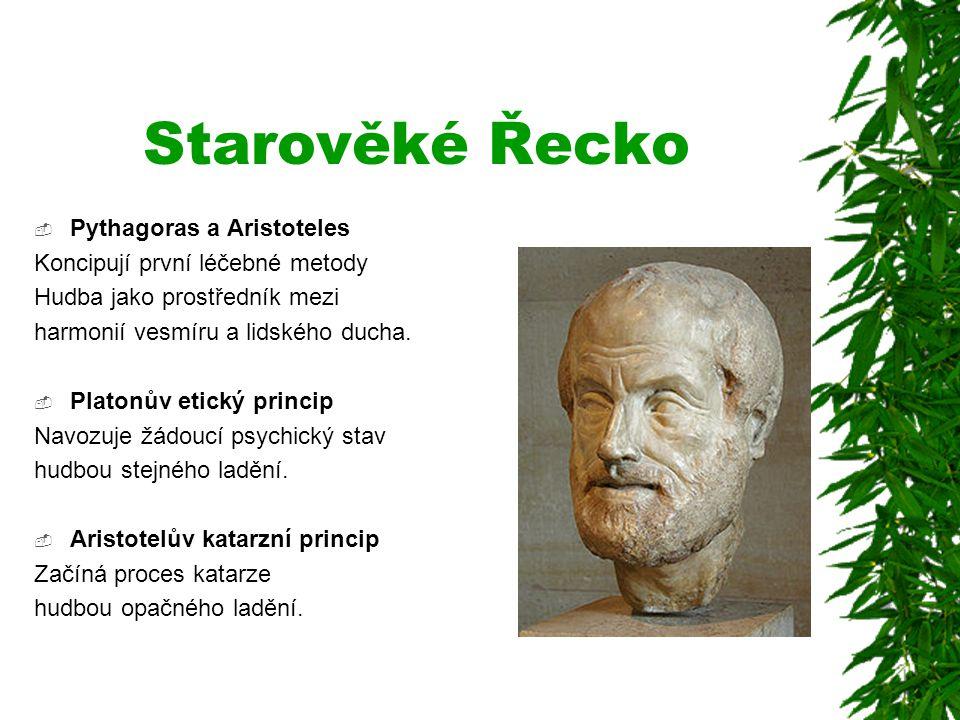 Starověké Řecko Pythagoras a Aristoteles