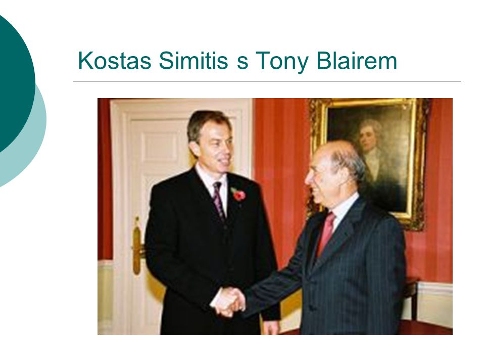 Kostas Simitis s Tony Blairem