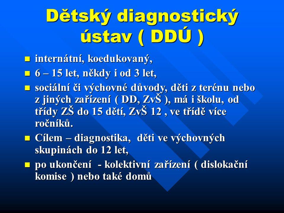 Dětský diagnostický ústav ( DDÚ )