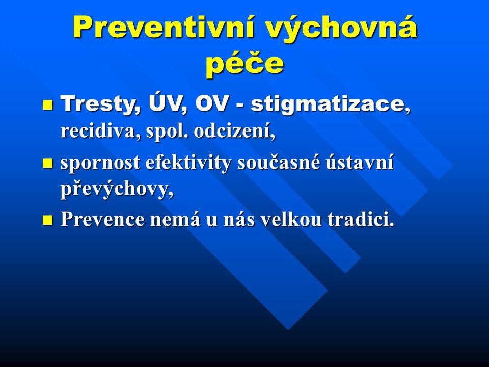 Preventivní výchovná péče