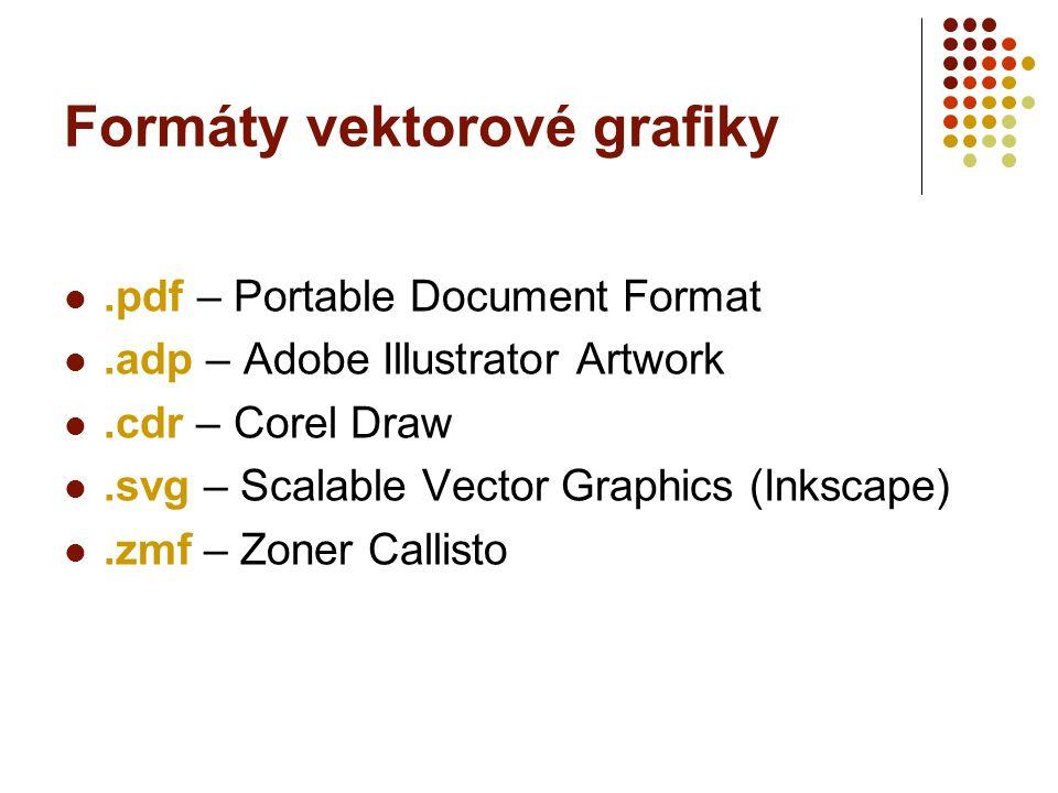 Formáty vektorové grafiky