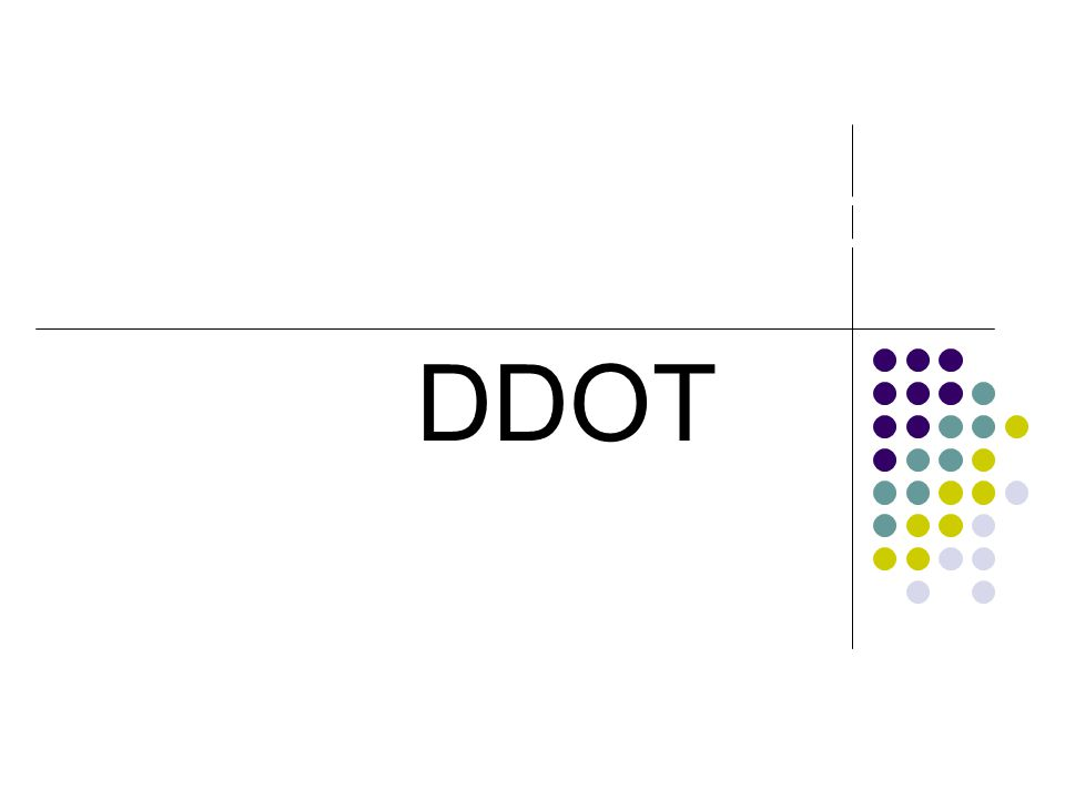 DDOT DDOT