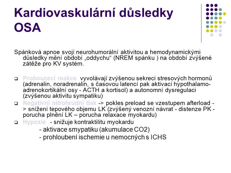Kardiovaskulární důsledky OSA
