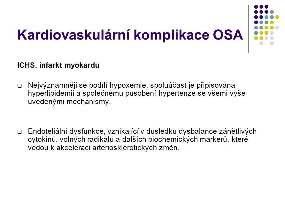 Kardiovaskulární komplikace OSA