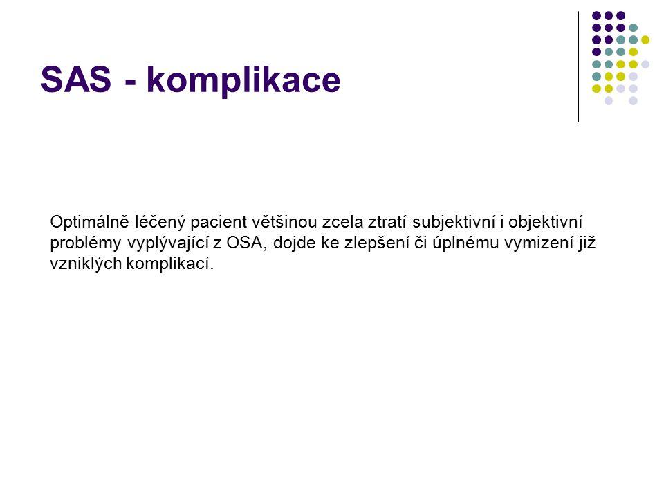 SAS - komplikace