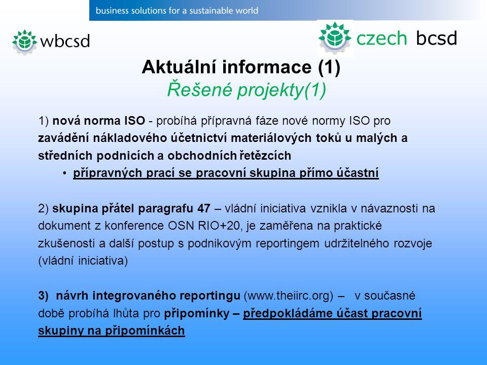 czech bcsd Aktuální informace (1) Řešené projekty(1)