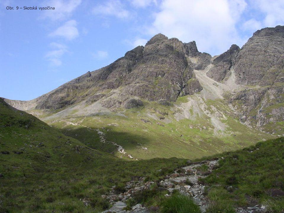 Obr. 9 – Skotská vysočina