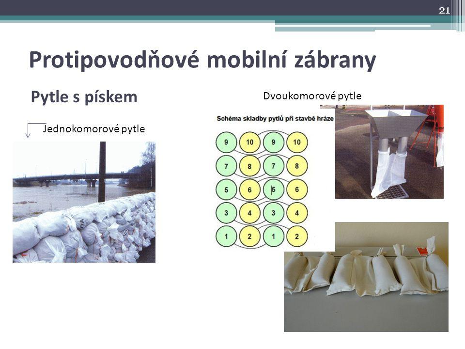 Protipovodňové mobilní zábrany