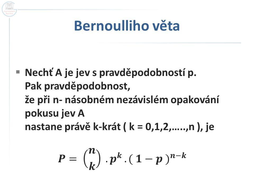 Bernoulliho věta