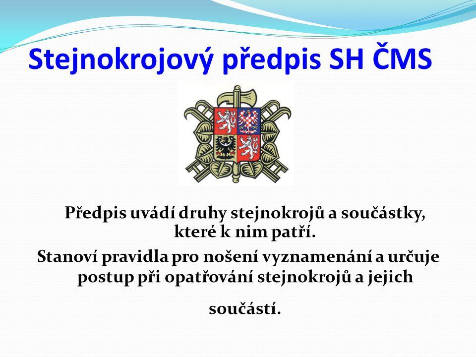 Stejnokrojový předpis SH ČMS