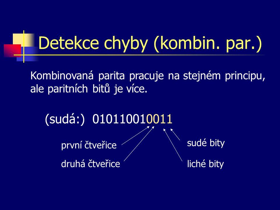 Detekce chyby (kombin. par.)