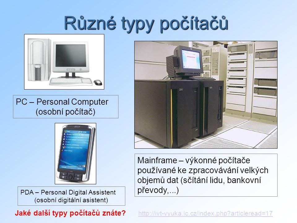 (osobní digitální asistent)
