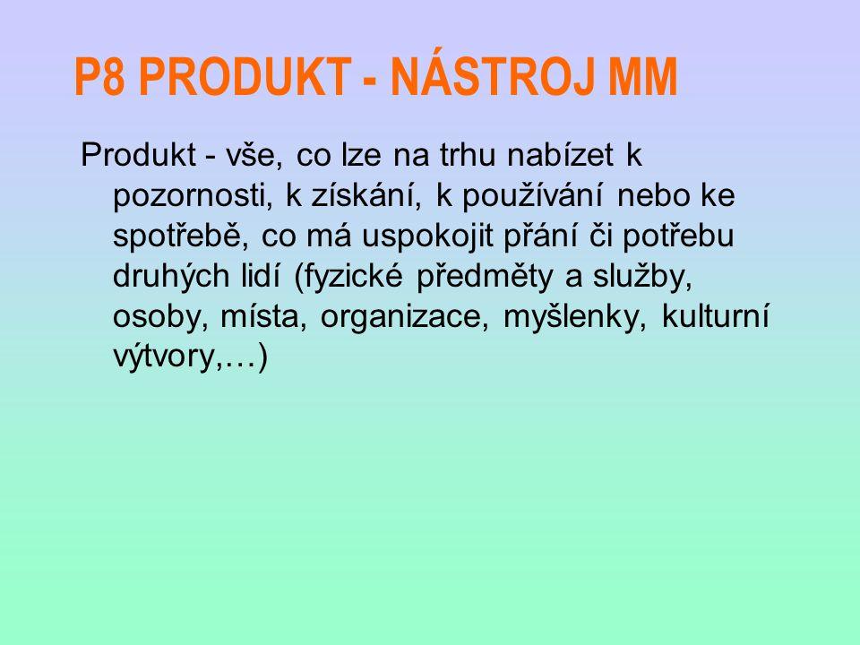 P8 PRODUKT - NÁSTROJ MM