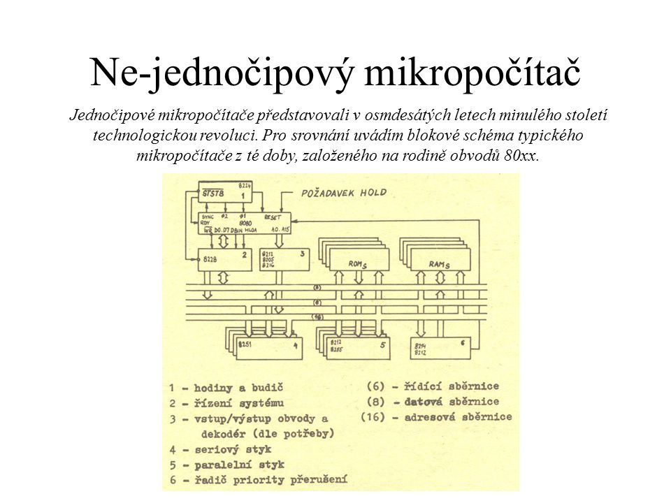 Ne-jednočipový mikropočítač