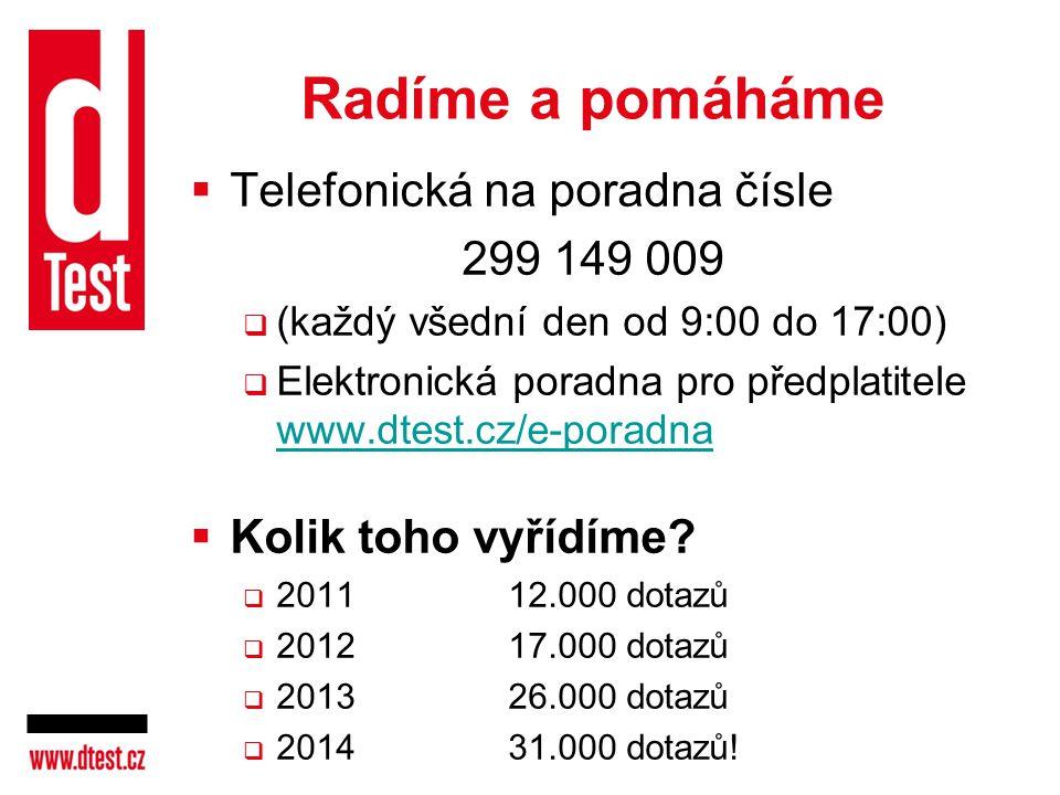 Radíme a pomáháme Telefonická na poradna čísle 299 149 009