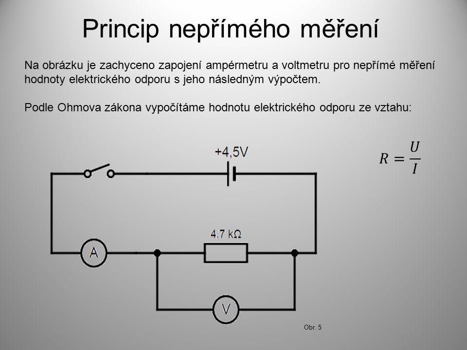 Princip nepřímého měření