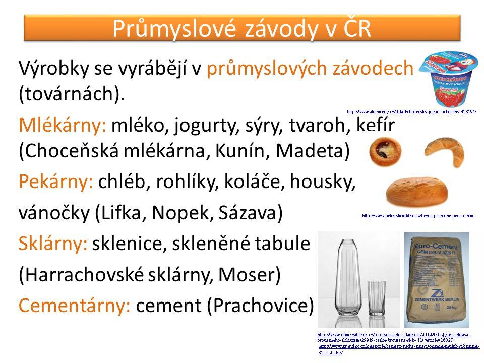 Průmyslové závody v ČR
