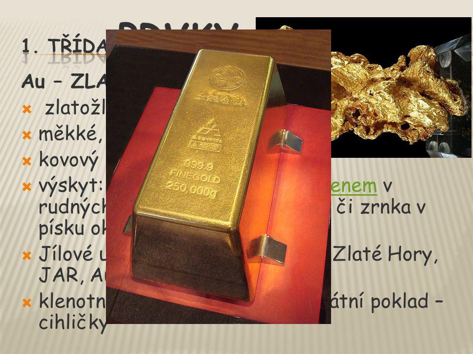 klenotnictví, mikroprocesory, státní poklad – cihličky