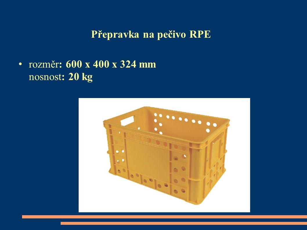 Přepravka na pečivo RPE