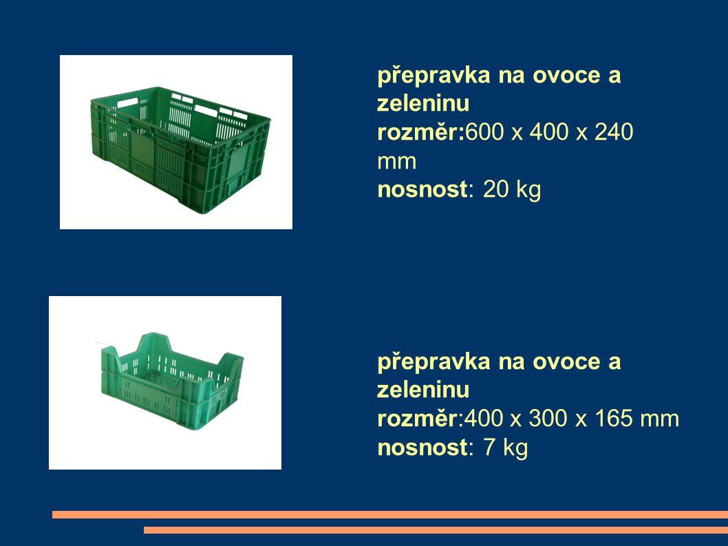 přepravka na ovoce a zeleninu