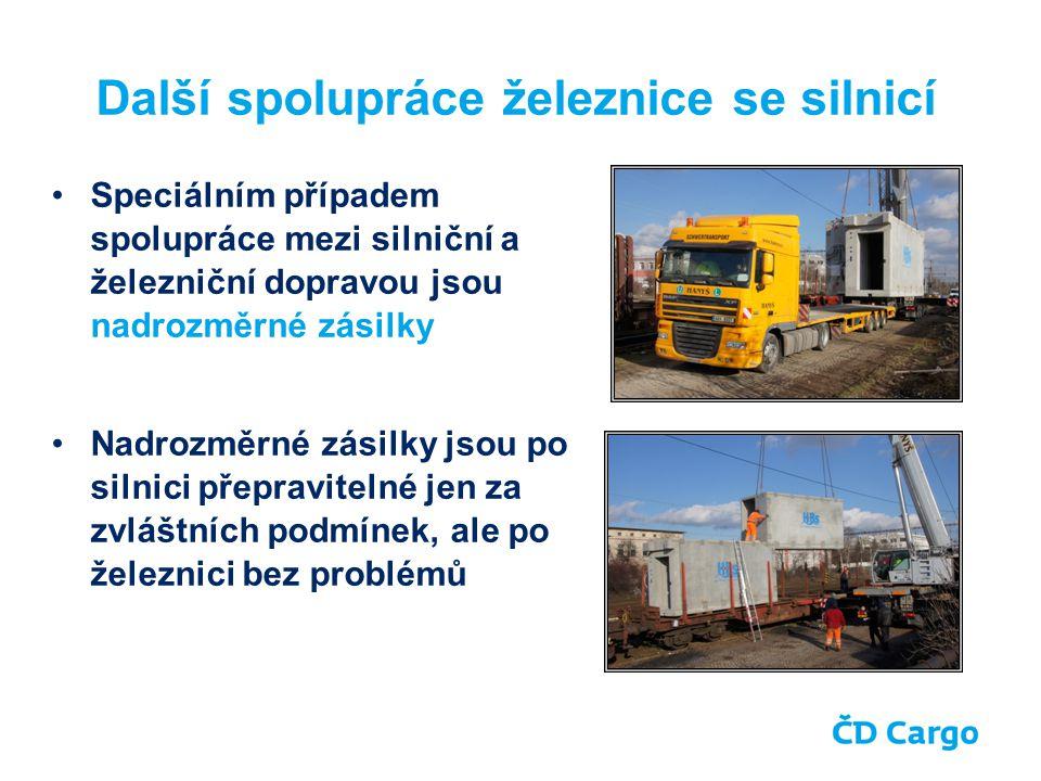 Další spolupráce železnice se silnicí