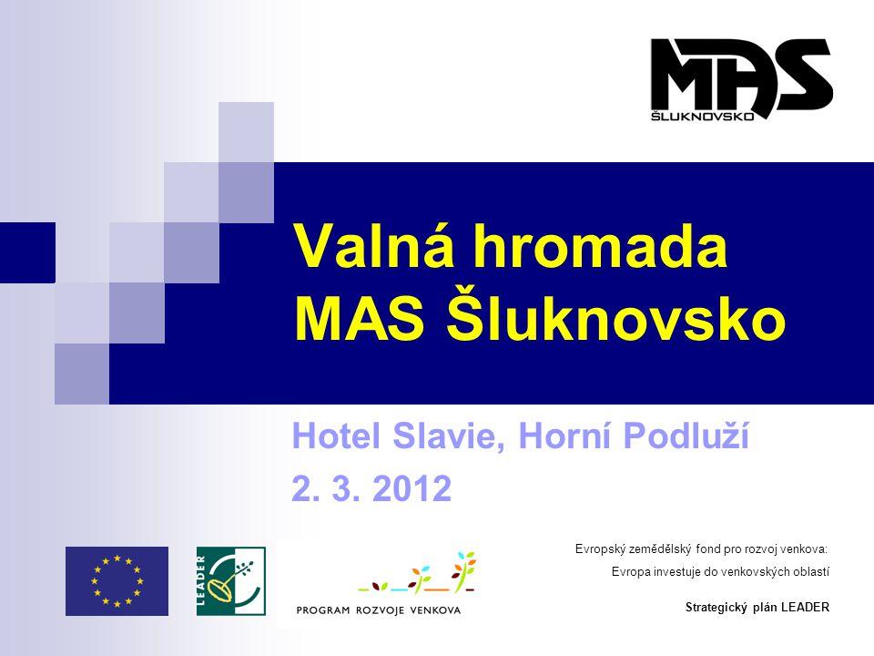 Valná hromada MAS Šluknovsko