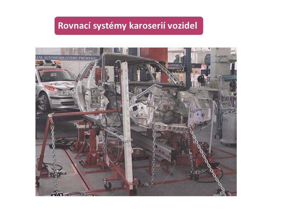 Rovnací systémy karoserií vozidel