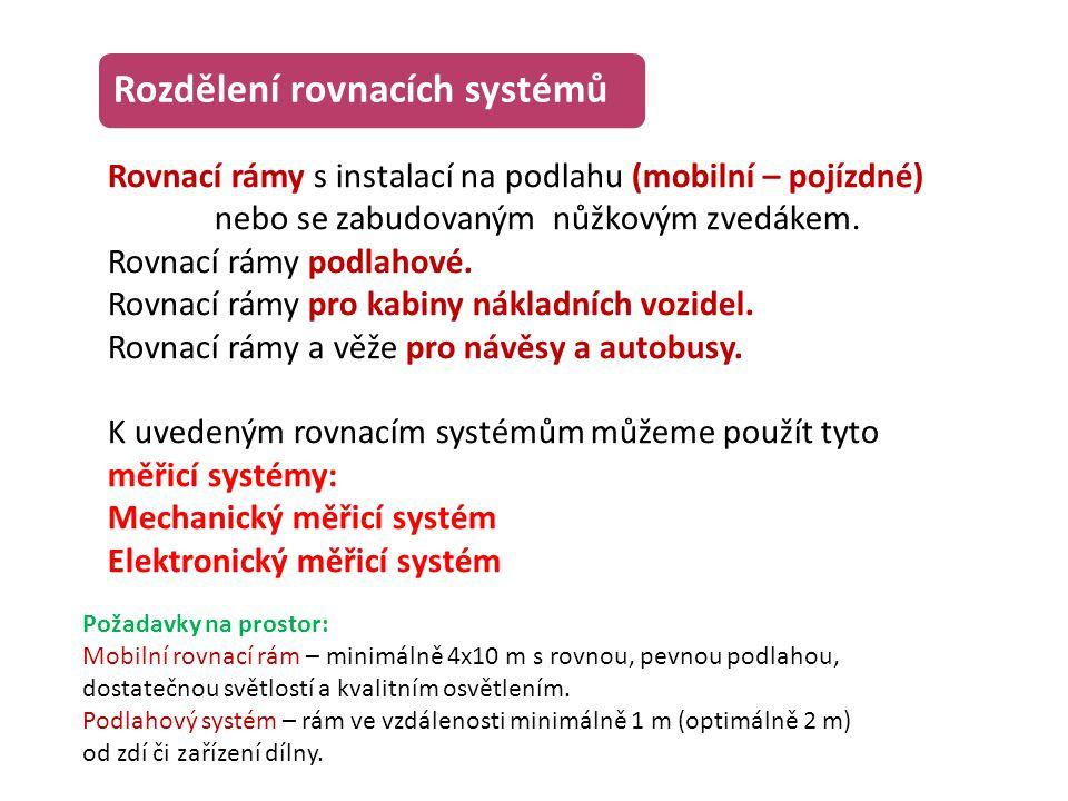 Rozdělení rovnacích systémů