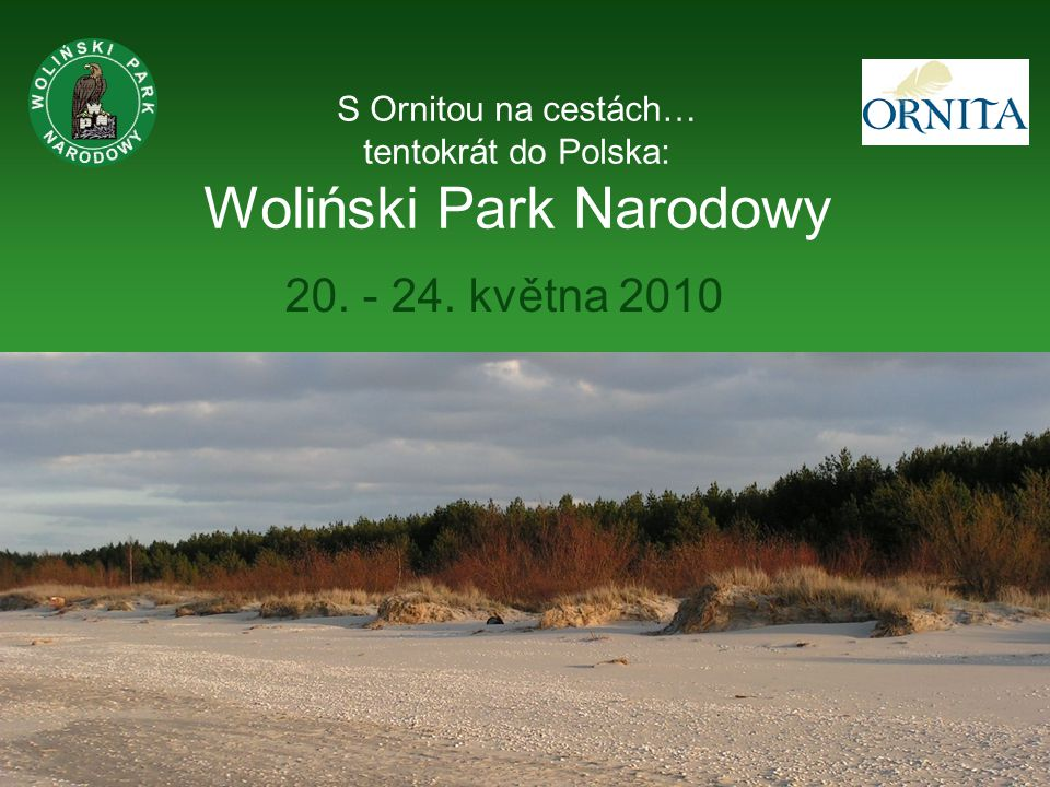 S Ornitou na cestách… tentokrát do Polska: Woliński Park Narodowy