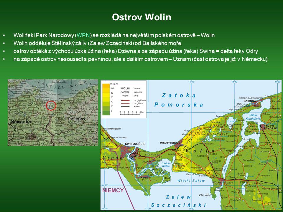 Ostrov Wolin Woliński Park Narodowy (WPN) se rozkládá na největším polském ostrově – Wolin.