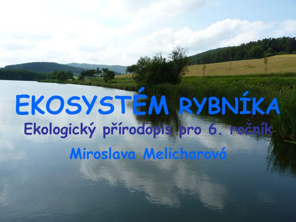 EKOSYSTÉM RYBNÍKA Ekologický přírodopis pro 6