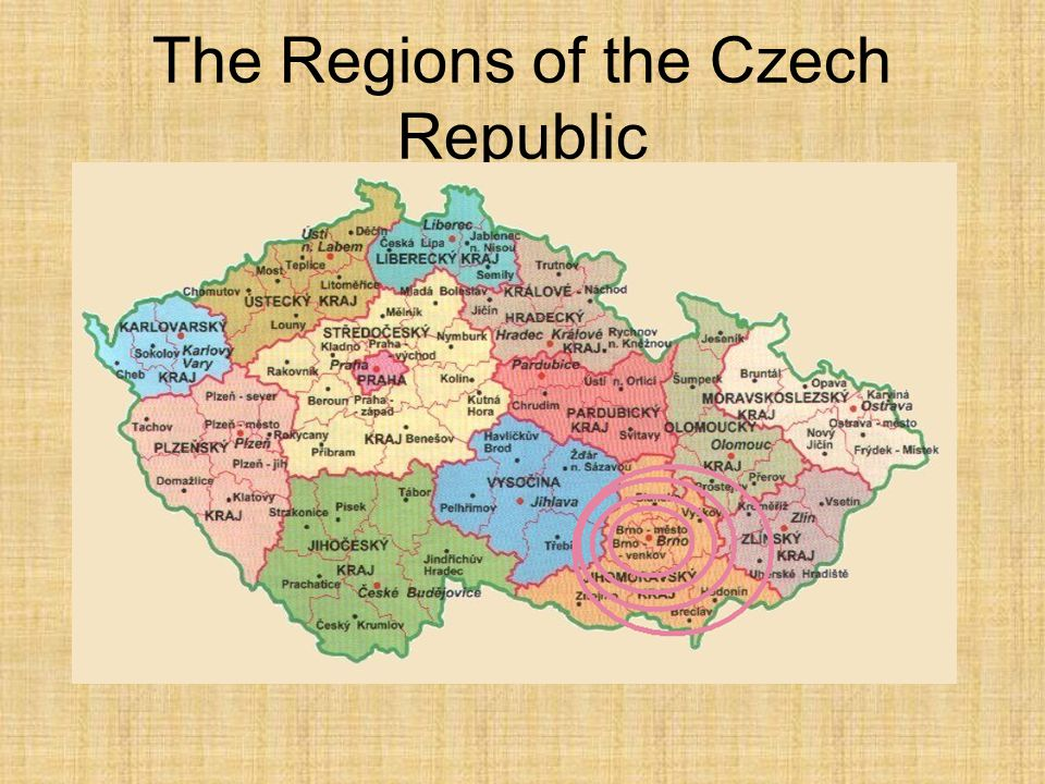 The Regions of the Czech Republic