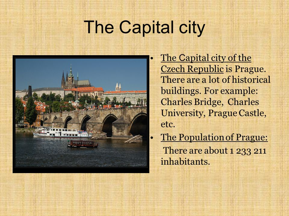 The Capital city