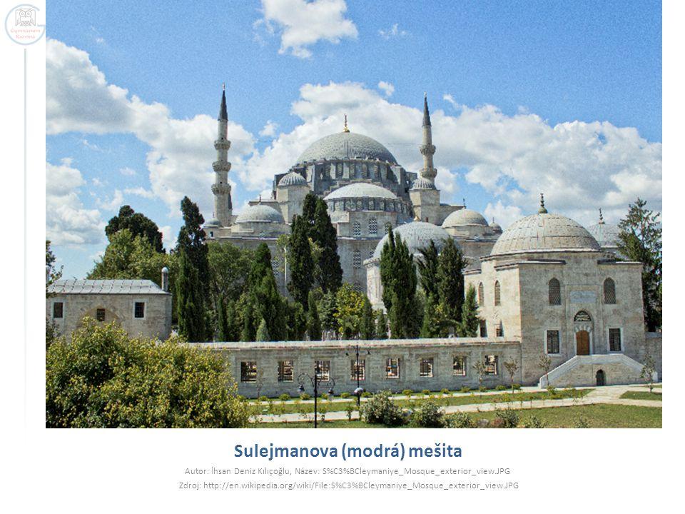Sulejmanova (modrá) mešita