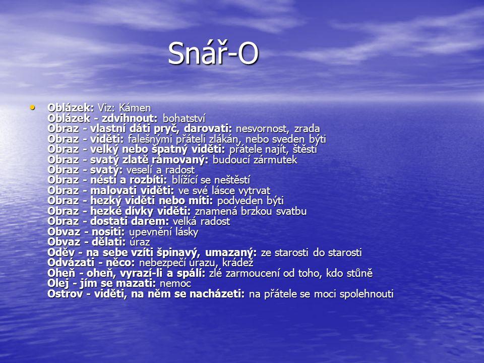 Snář-O