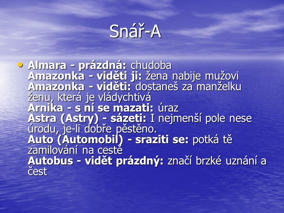 Snář-A