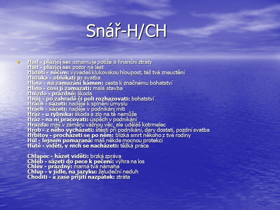 Snář-H/CH