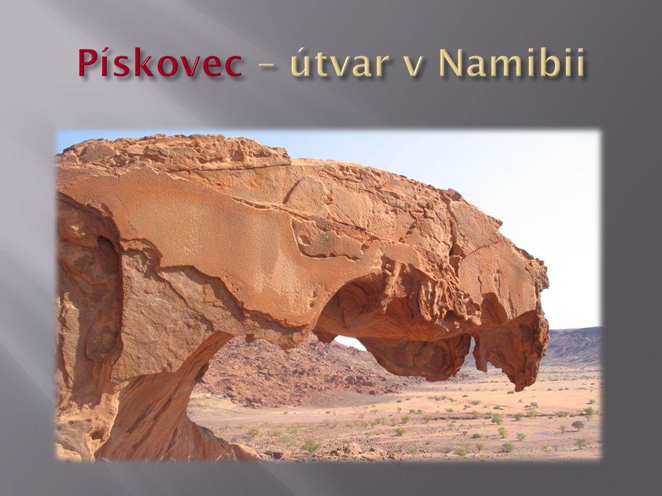 Pískovec – útvar v Namibii