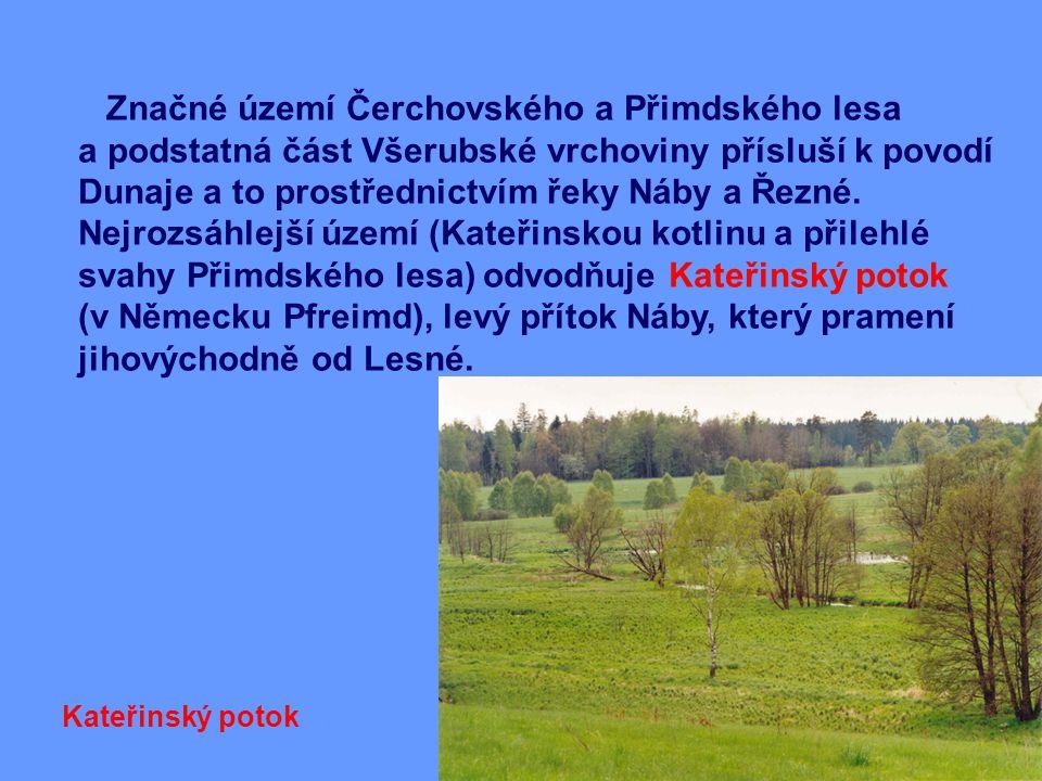 Značné území Čerchovského a Přimdského lesa