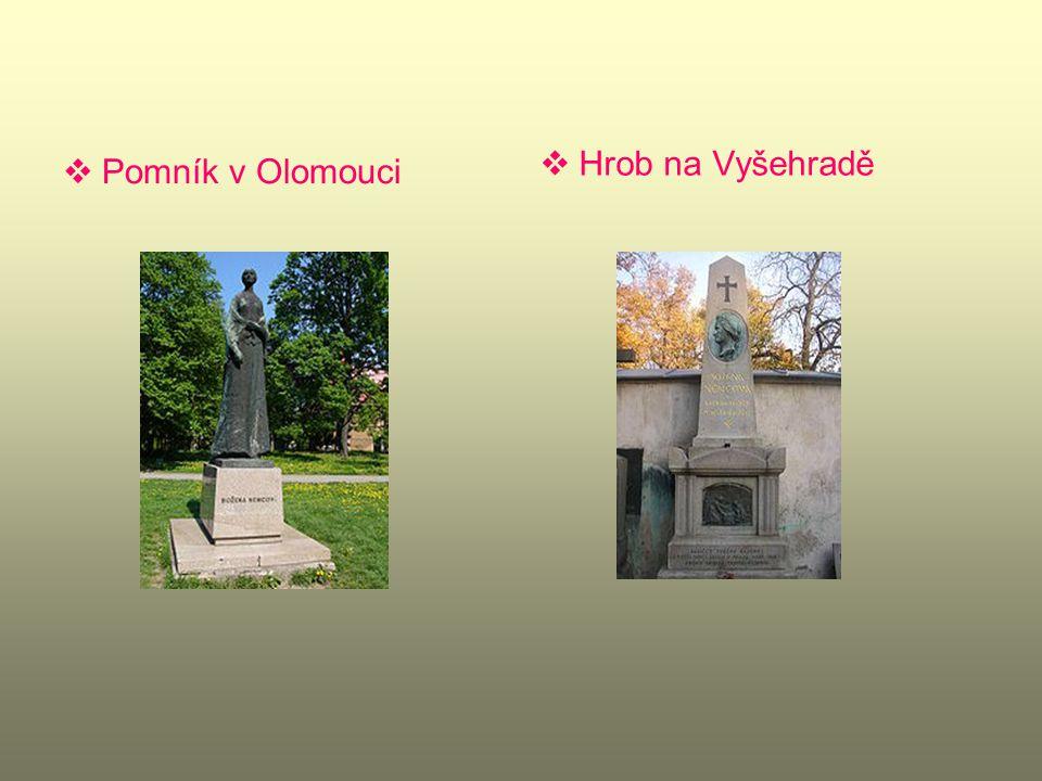 Hrob na Vyšehradě Pomník v Olomouci