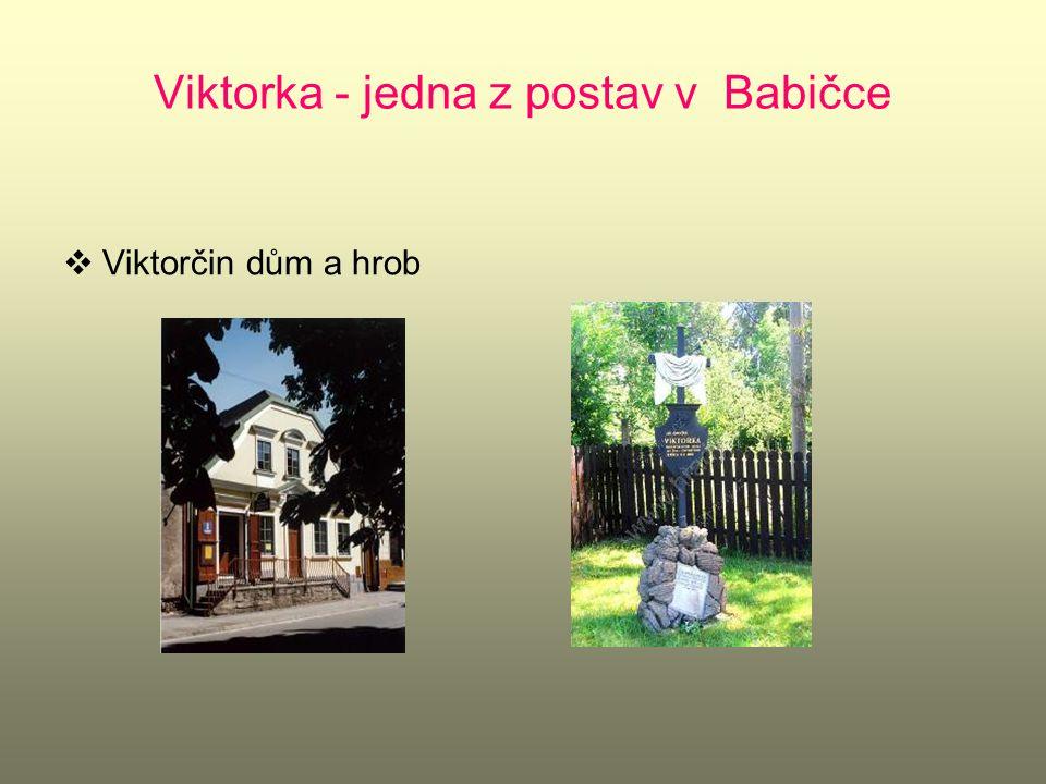 Viktorka - jedna z postav v Babičce