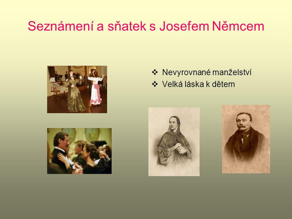 Seznámení a sňatek s Josefem Němcem