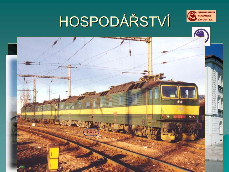 HOSPODÁŘSTVÍ PRŮMYSL. Strojírenský – Škoda Plzeň (lokomotivy, motory, strojní zařízení) Těžba a zpracování kaolínu – Chlumčany, Horní Bříza.